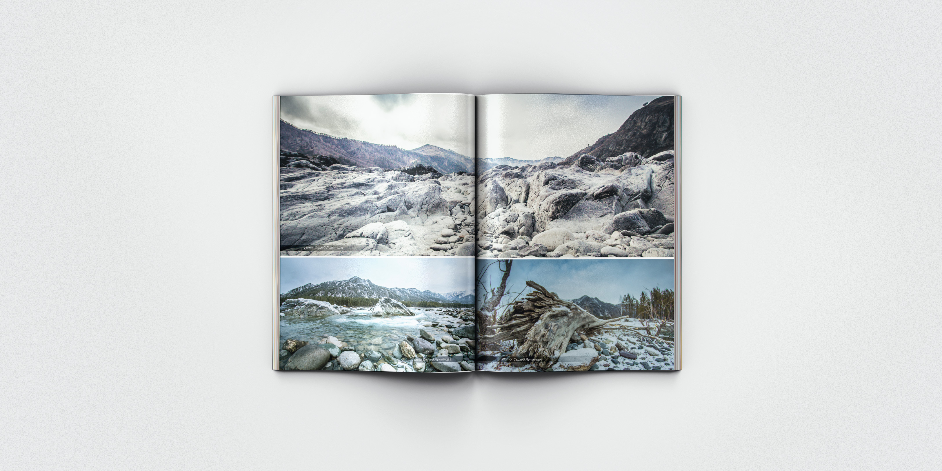 "Дизайн журнала ""Это Сибирь!"""